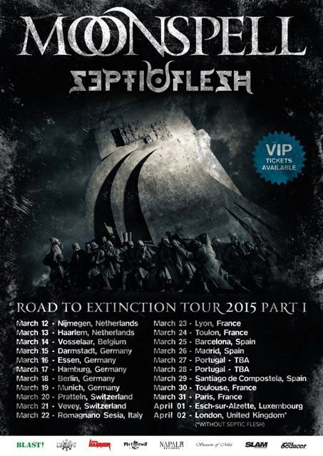 MOONSPELL and SEPTICFLESH together on tour