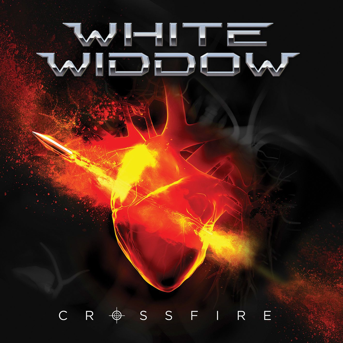 """CD review WHITE WIDDOW """"Crossfire"""""""