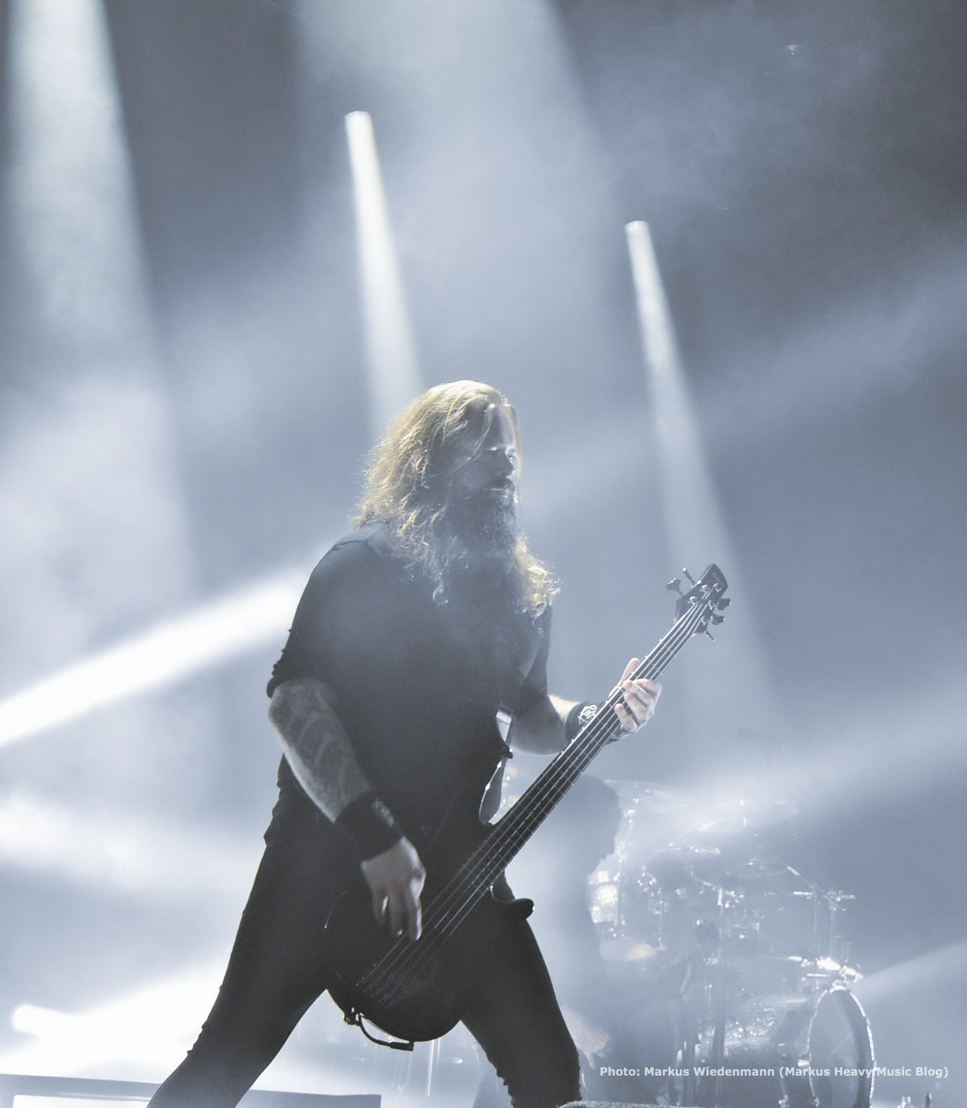 Live review IN FLAMES, WHILE SHE SLEEPS , WOVENWAR, Tilburg, 20.10.2014