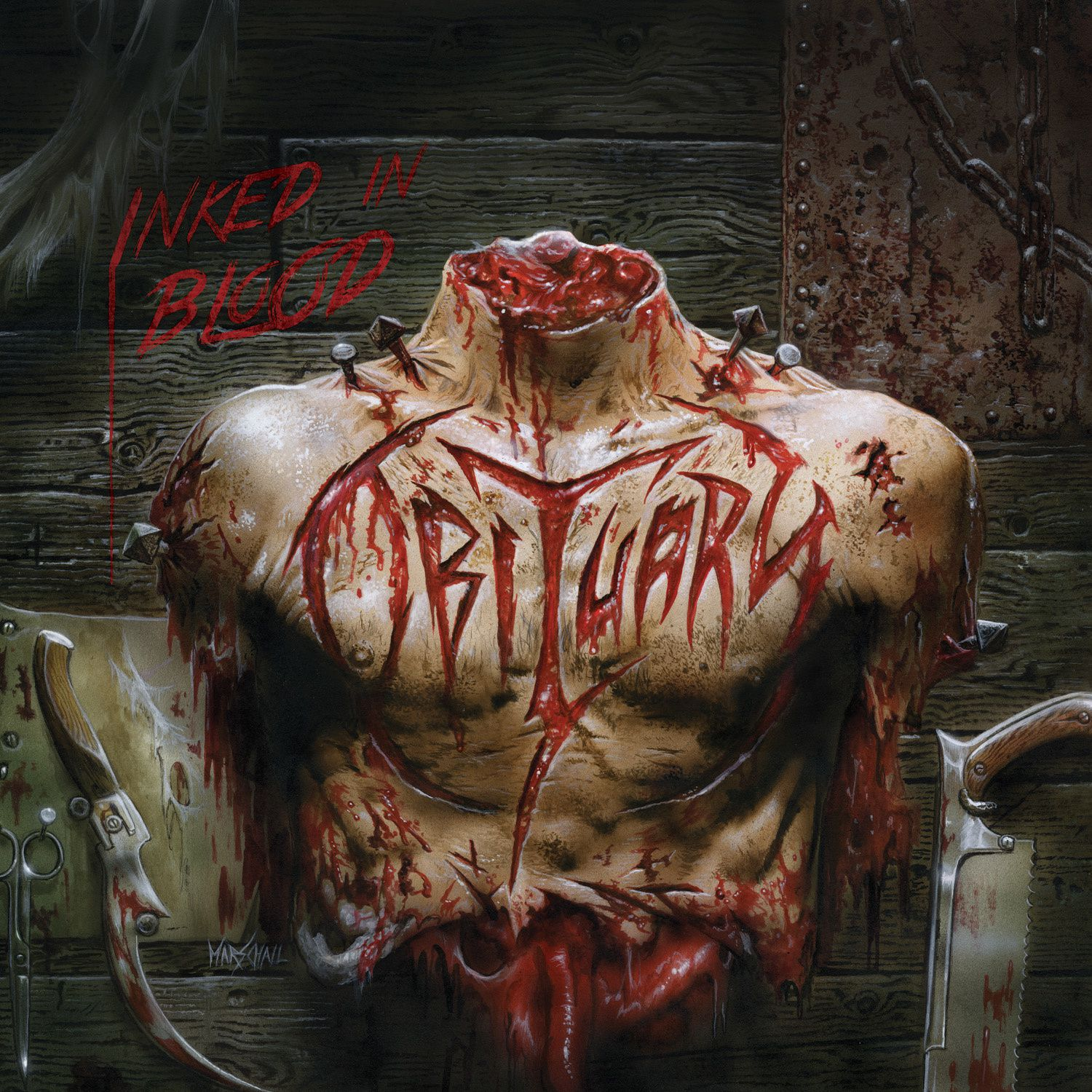 """CD review OBITUARY """"Inked in blood"""""""