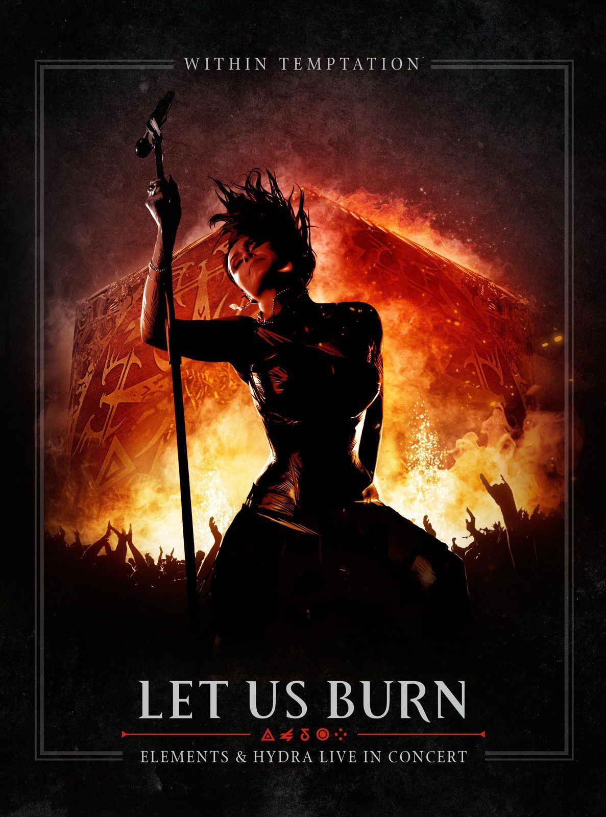 """CD/DVD review WITHIN TEMPTATION """"Let us burn (Elements & Hydra live in concert)"""""""