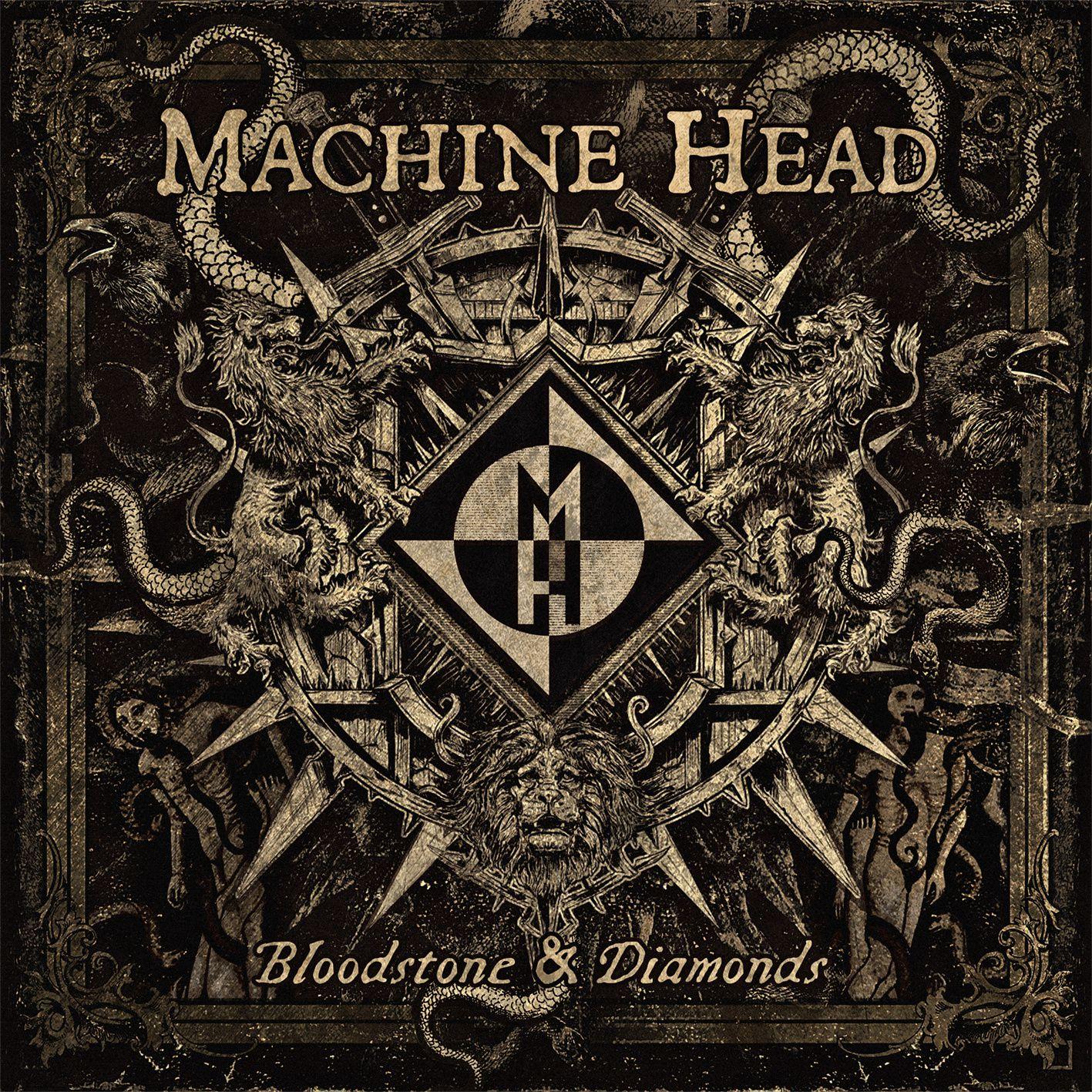"CD review MACHINE HEAD ""Bloodstones and diamonds"""
