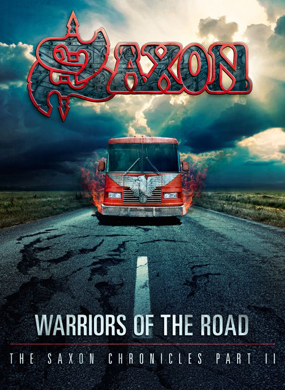 """CD/DVD review SAXON """"Warriors of the road - The SAXON chronicles part II"""""""