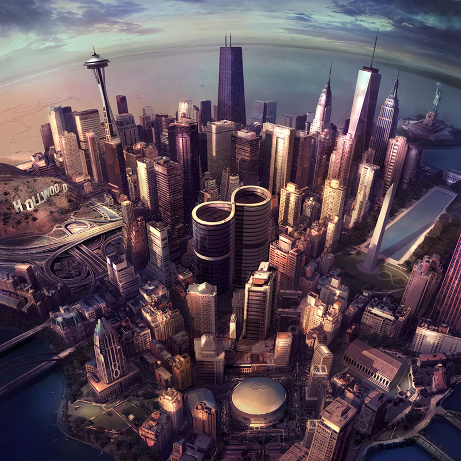 """CD review FOO FIGHTERS """"Sonic highways"""""""