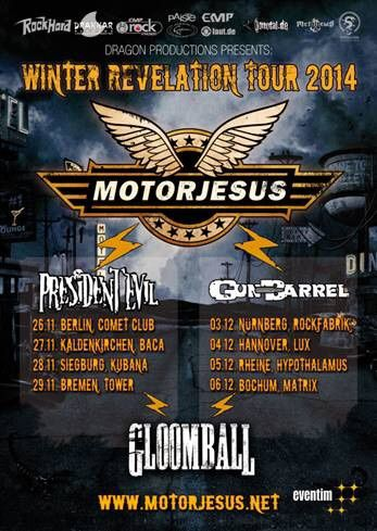 MOTORJESUS in tour in Germany