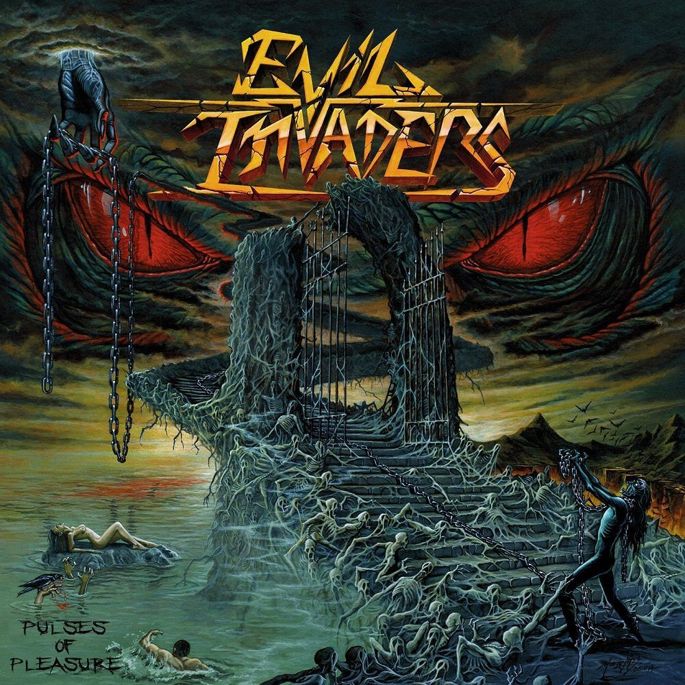 Cover and tracklist from the coming EVIL INVADERS album