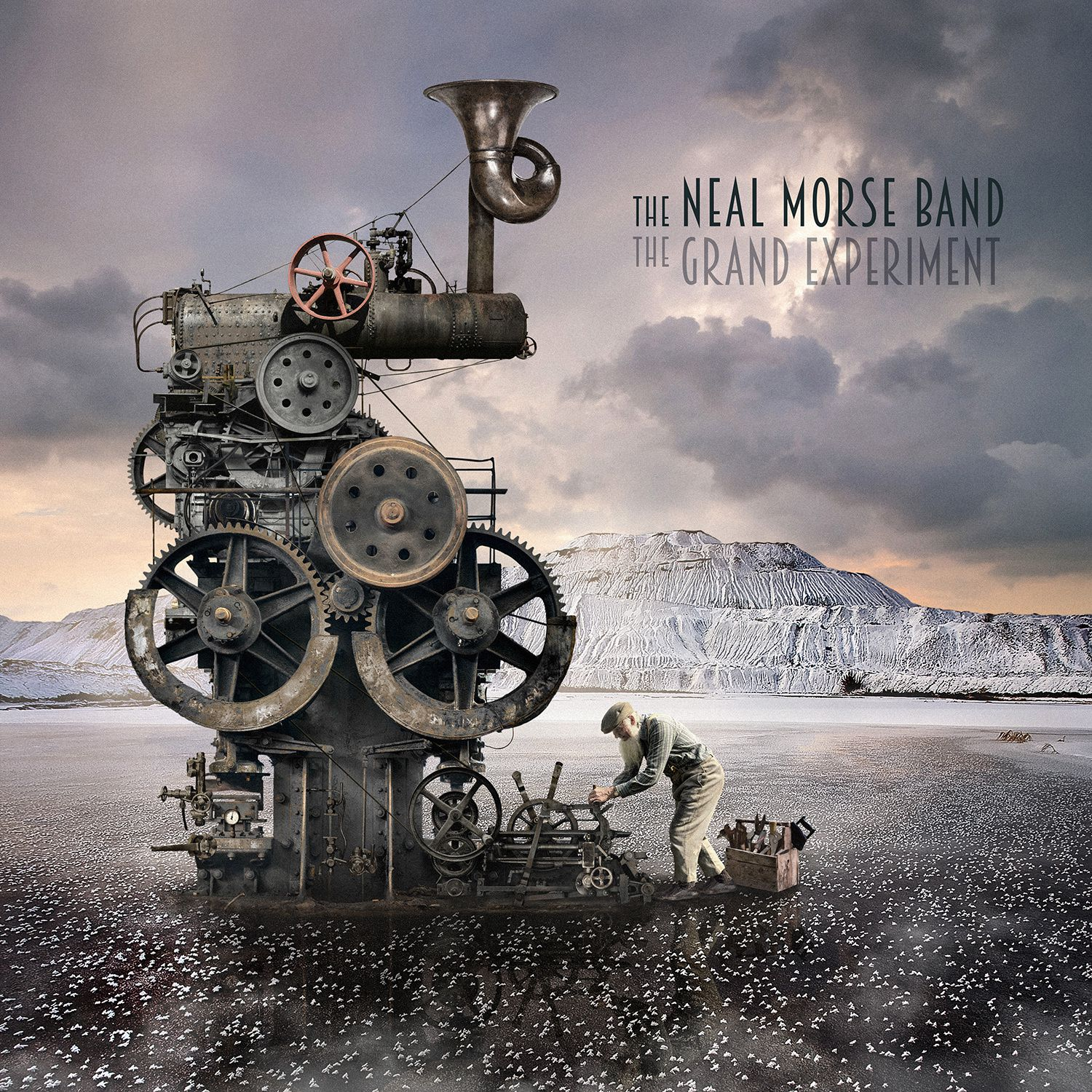 Cover and tracklist from the new THE NEAL MORSE BAND album