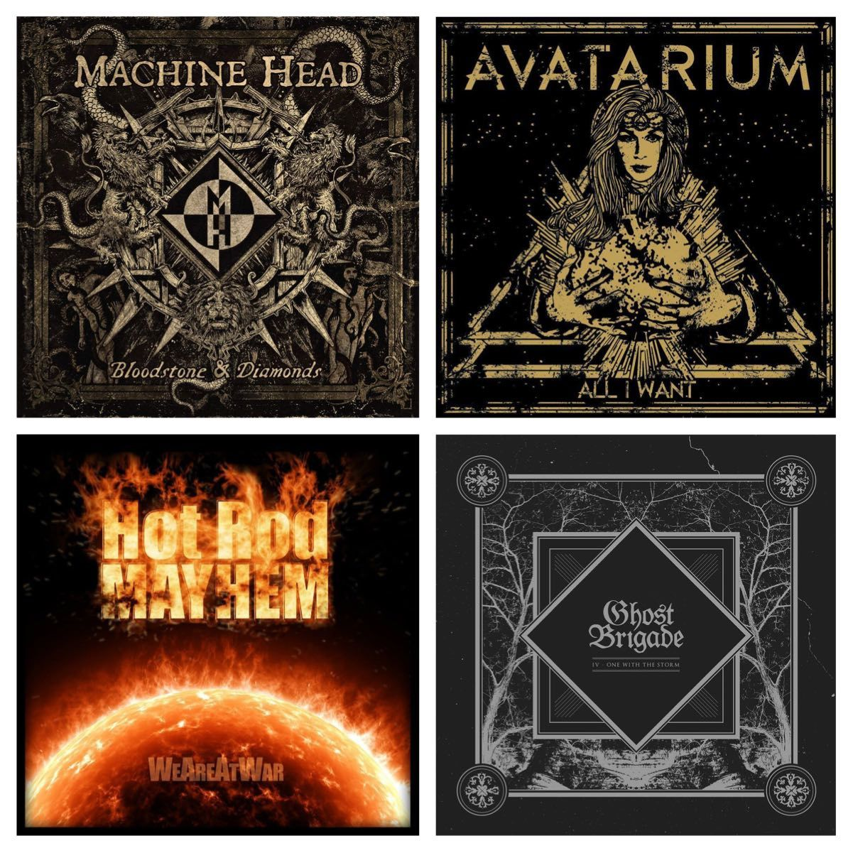 My metal year 2014 - Albums and more...