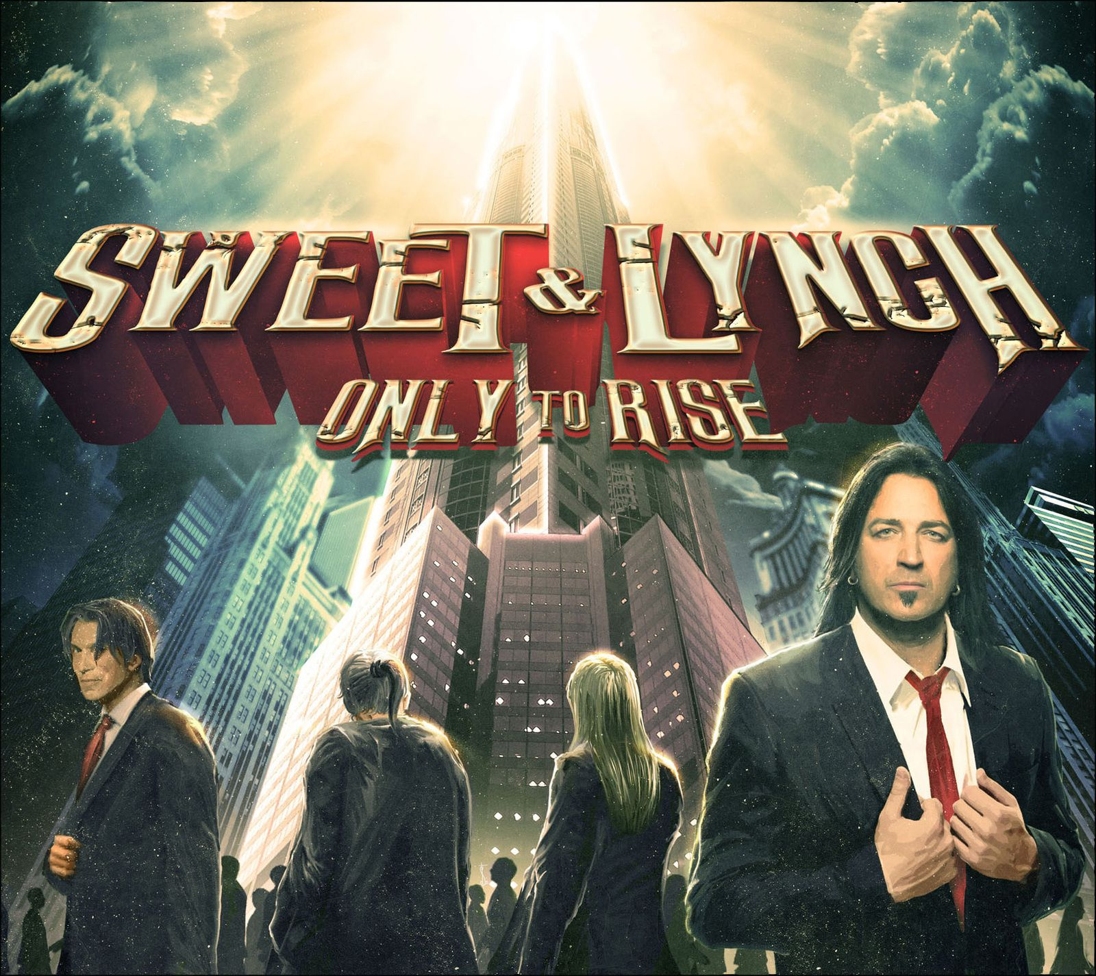 """CD review SWEET & LYNCH """"Only to rise"""""""