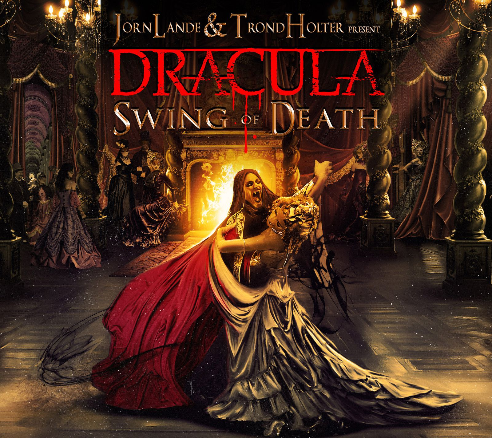 """CD review JORN LANDE & TROND HOLTER present DRACULA """"Swing od death"""""""