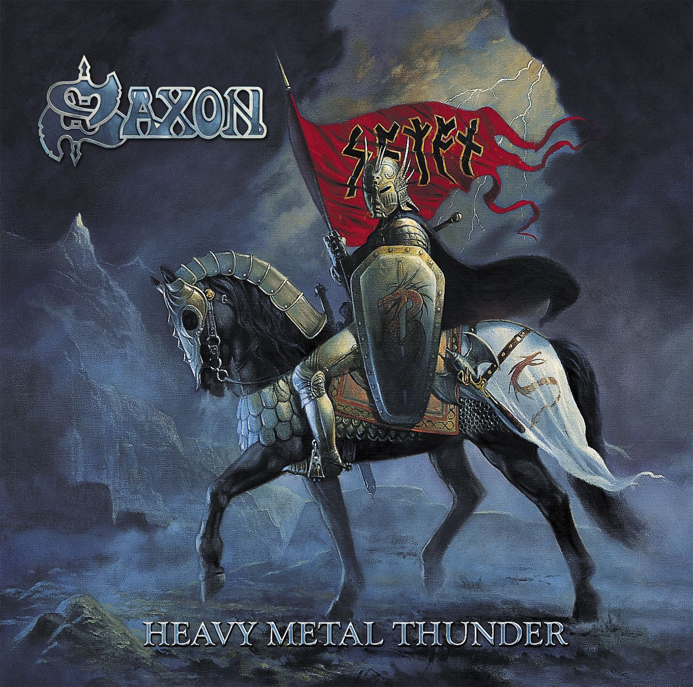 """CD review SAXON """"Heavy metal thunder"""" re-release"""