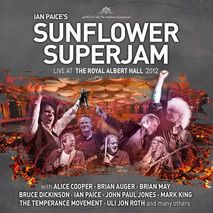 "CD review IAN PAICE'S SUNFLOWER SUPERJAM ""Live at the Royal Albert Hall"""