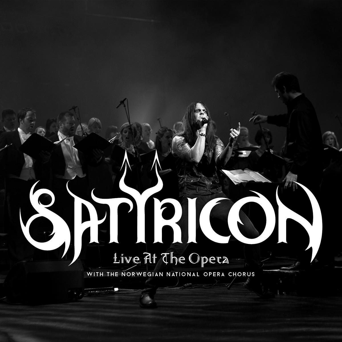 SATYRICON sign with Napalm Record and release a live album