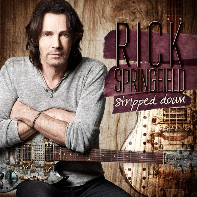 """CD review RICK SPRINGFIELD """"Stripped down"""""""