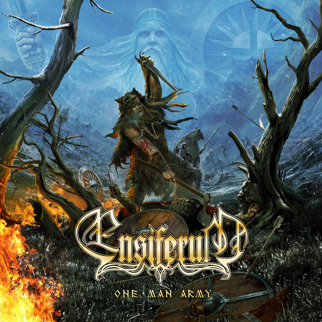 "CD review ENSIFERUM ""One man army"""