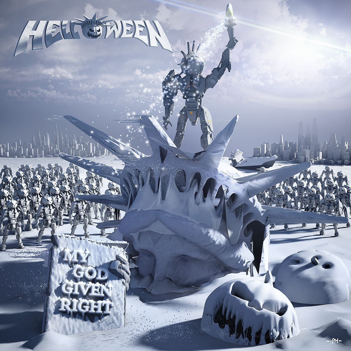 HELLOWEEN reveals cover for the new album