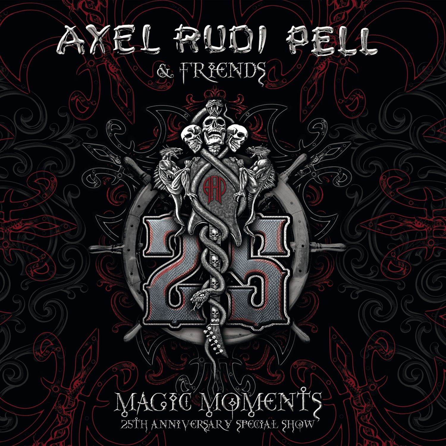 """CD review AXEL RUDI PELL """"Magic moments - 25 anniversary special show"""""""