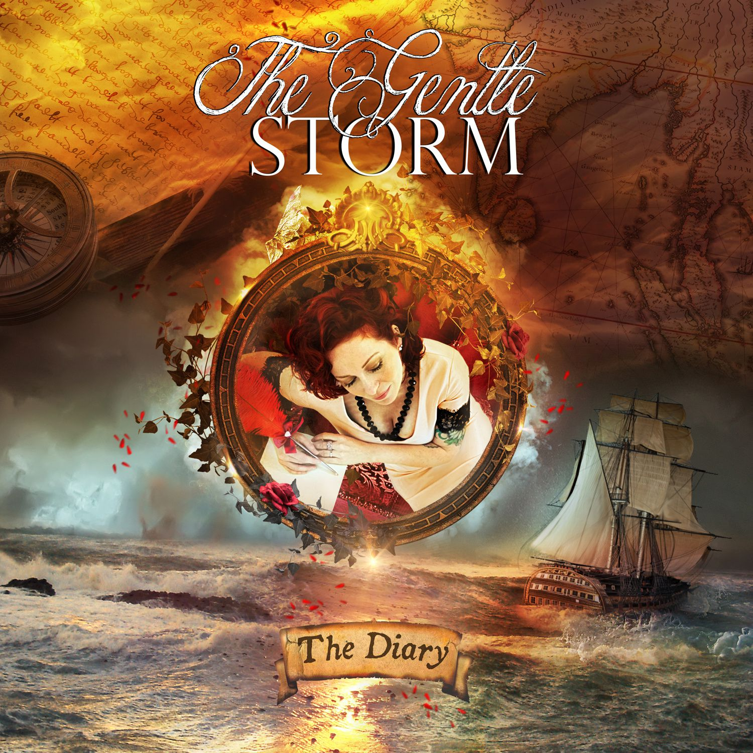 """CD review THE GENTLE STORM """"The diary"""""""