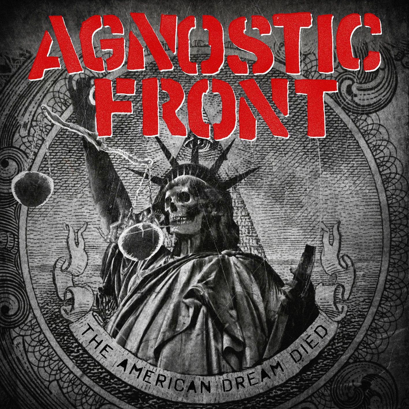 """CD review AGNOSTIC FRONT """"The American dream died"""""""