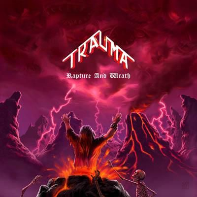 """CD review TRAUMA """"Rapture and wrath"""""""