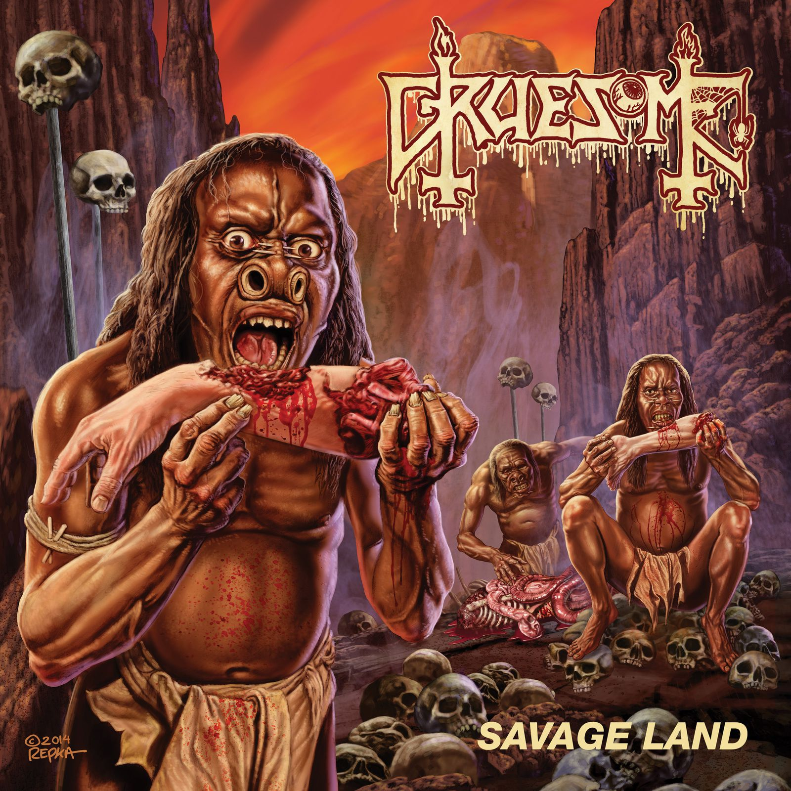 """CD review GRUESOME """"Savage land"""""""