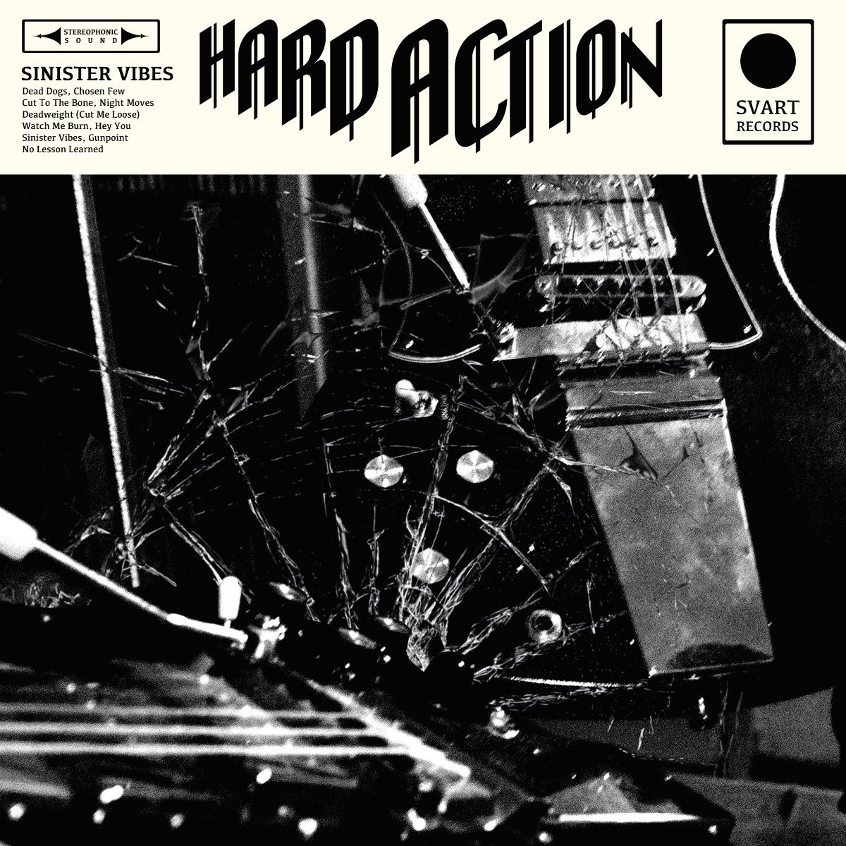 """CD review HARD ACTION """"Sinister vibes"""""""
