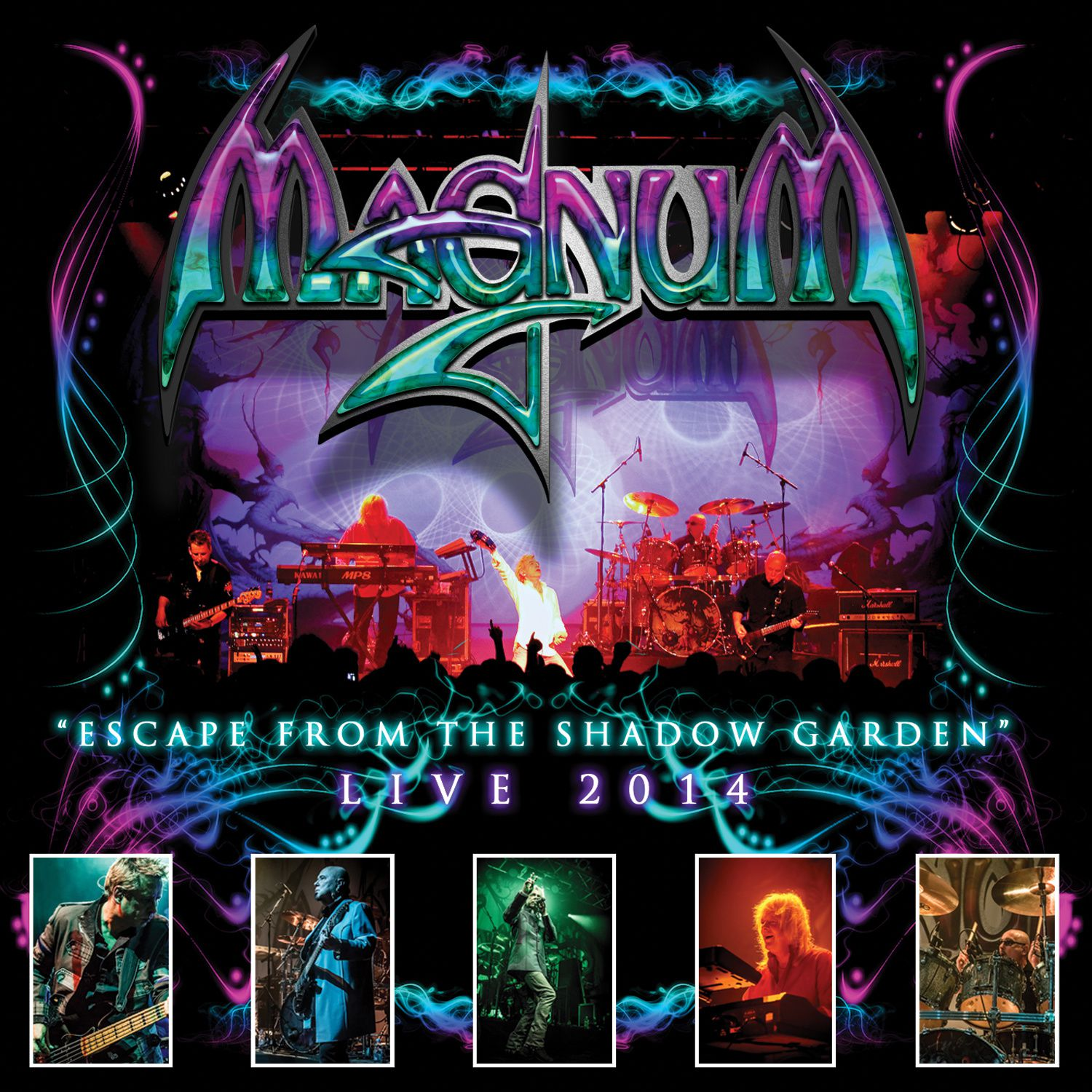 """CD review MAGNUM """"Escape from the shadow garden - live 2014"""""""