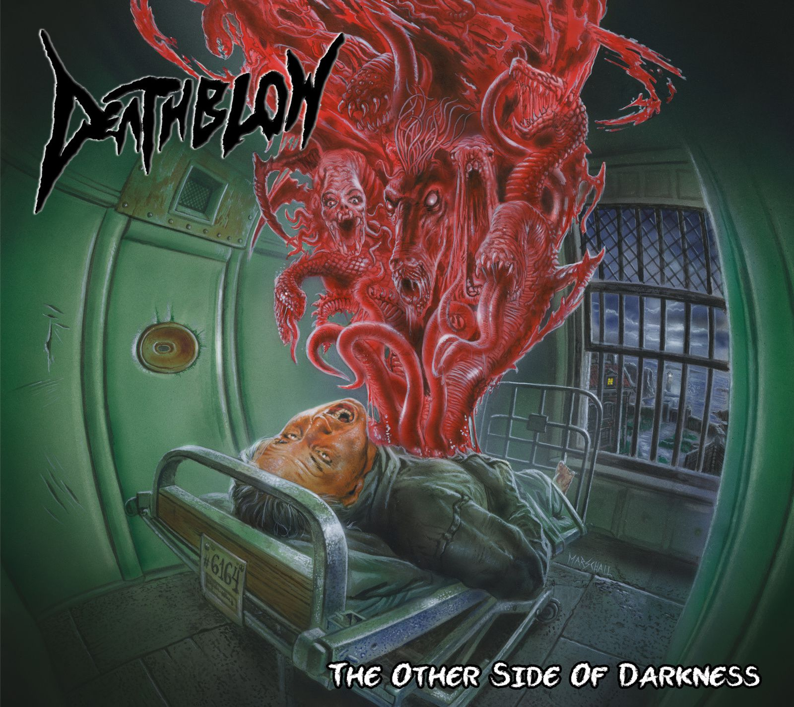 """CD review DEATHBLOW """"The other side of darkness"""""""