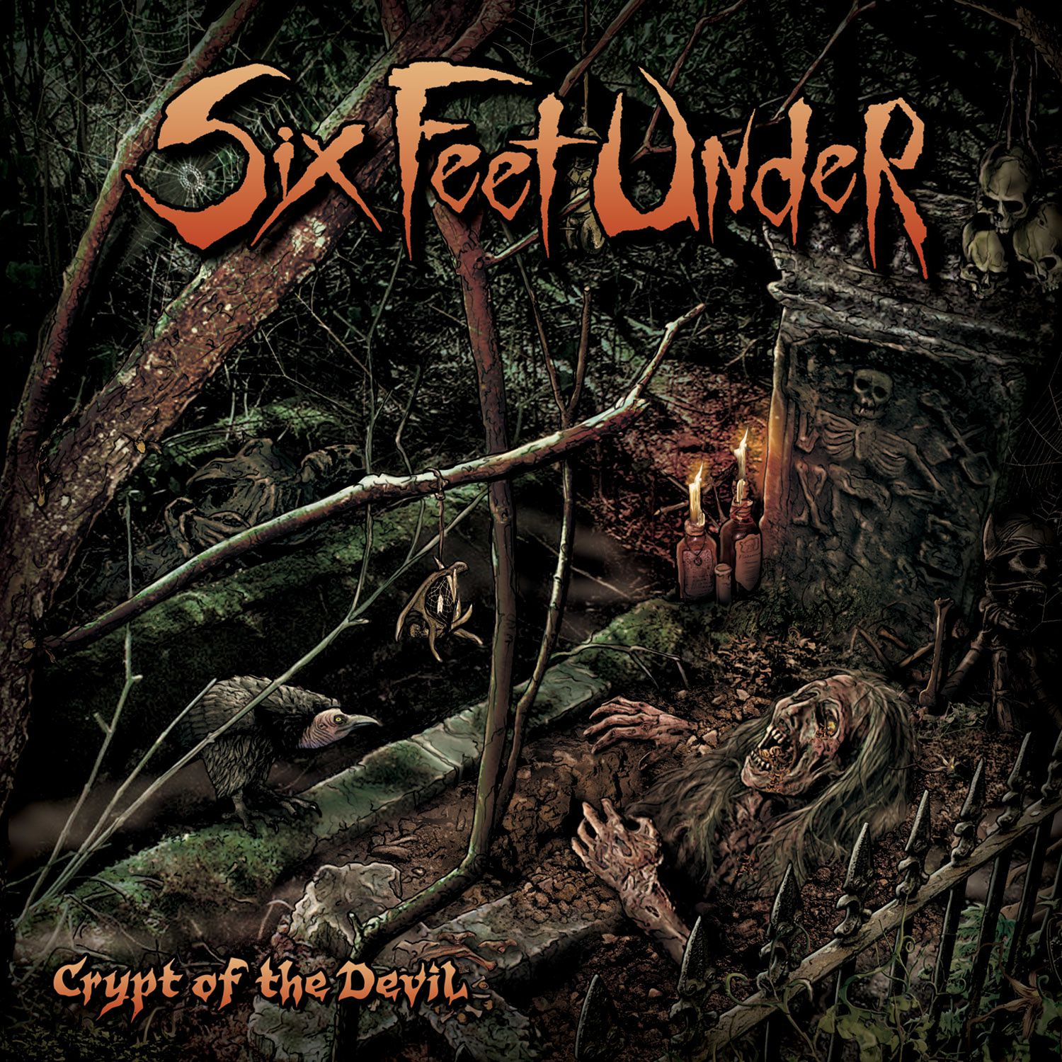 "CD review SIX FEET UNDER ""Crypt of the devil"""