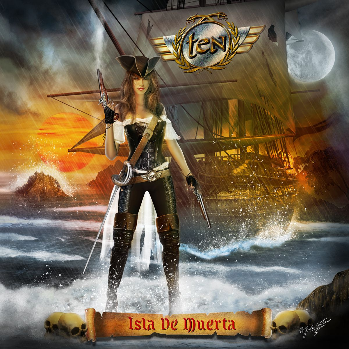 "CD review TEN ""Isla de muerta"""