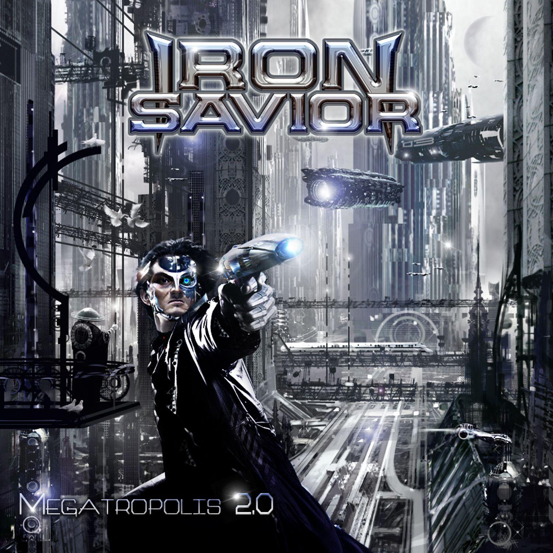 """CD review IRON SAVIOR """"Megatropolis 2.0"""""""