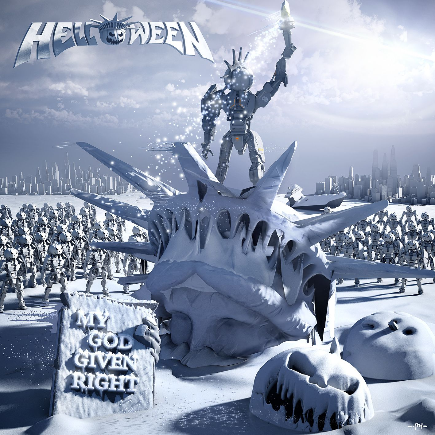 """CD review HELLOWEEN """"My God - give right"""""""