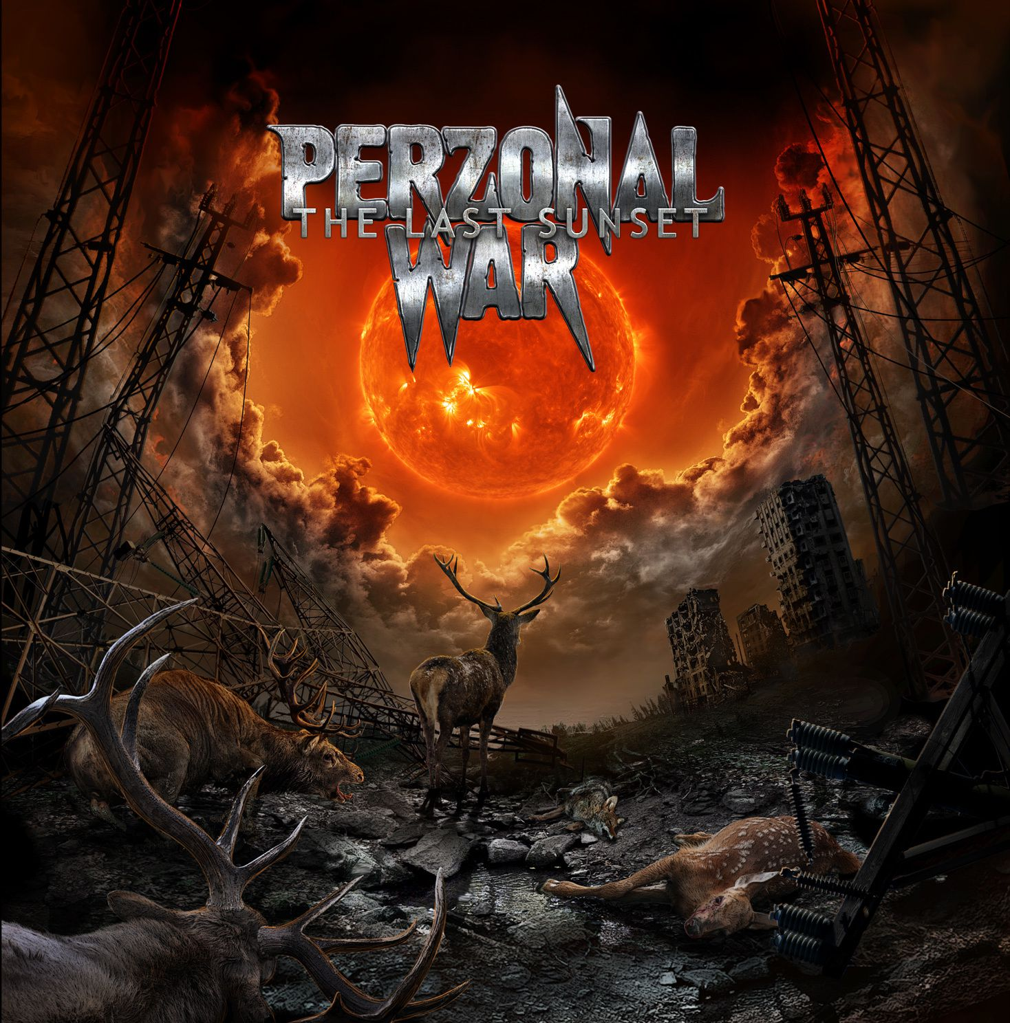 """CD review PERZONAL WAR """"The last sunset"""""""