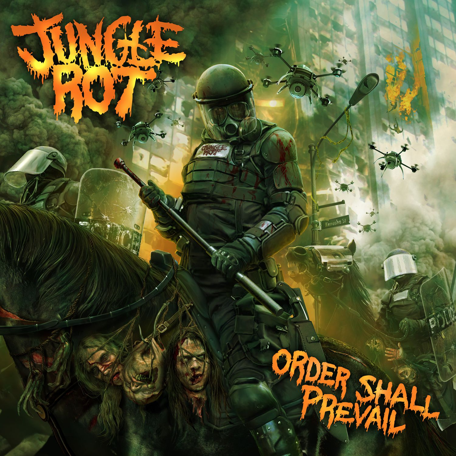 """CD review JUNGLE ROT """"Order shall prevail"""""""