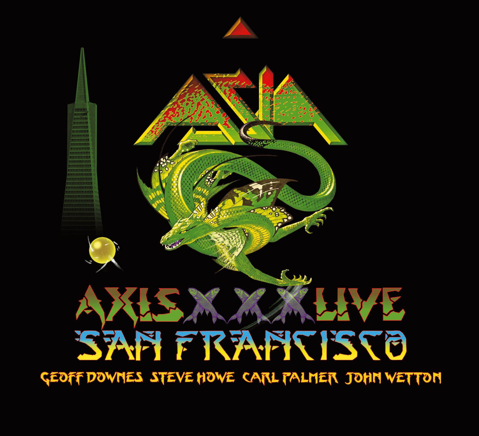"""CD review ASIA """"Axis XXX live in San Francisco MMXII"""""""