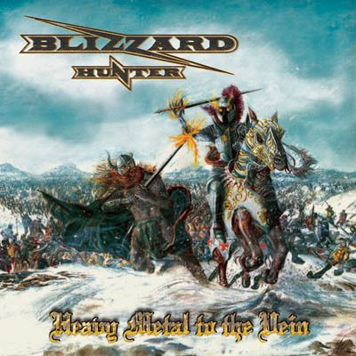 """CD review BLIZZARD HUNTER """"Heavy metal to the vein"""""""
