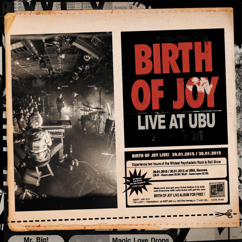 """CD review BIRTH OF JOY """"Live at Ubu"""""""