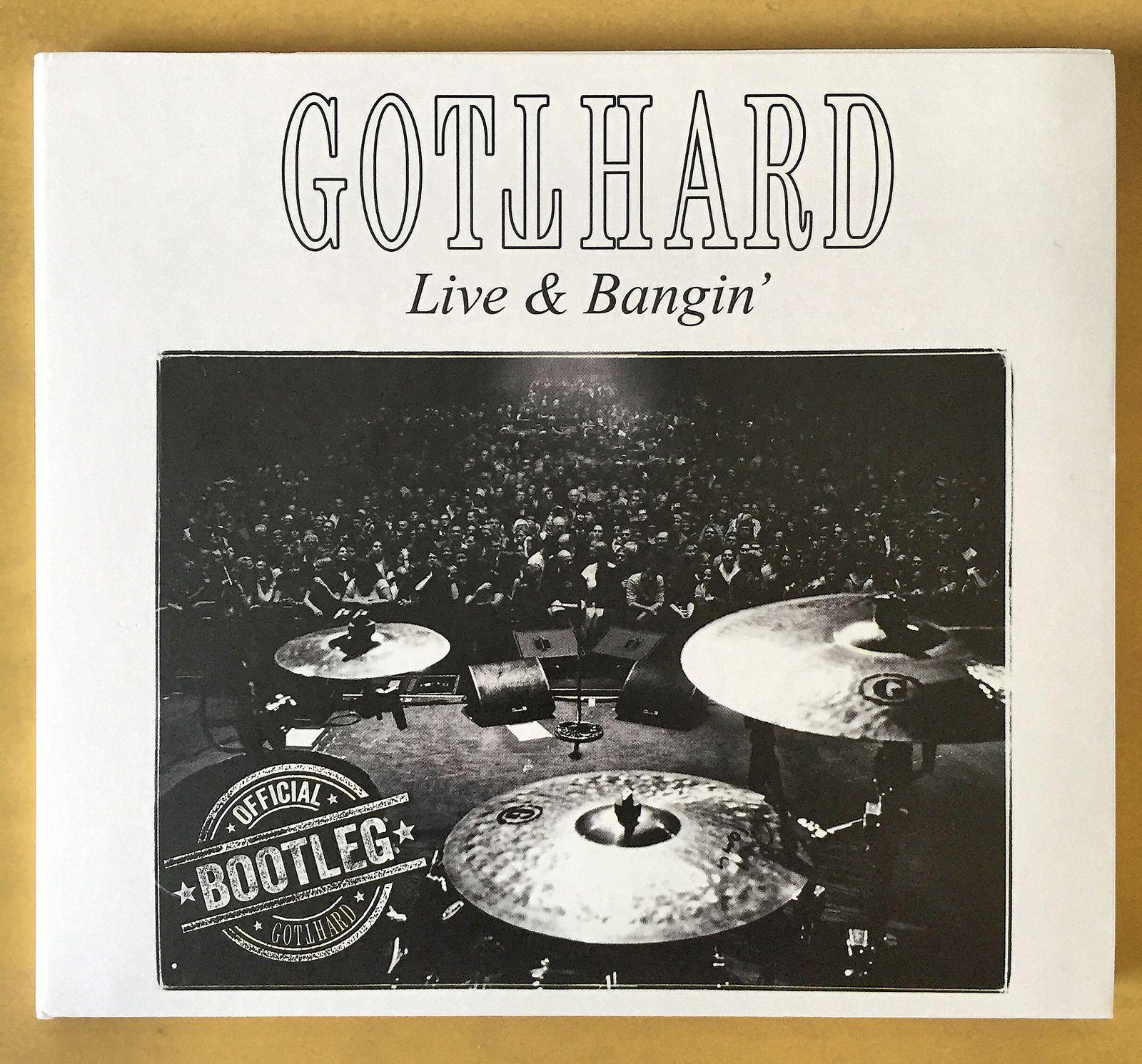 "CD review GOTTHARD ""Live & bangin'"""