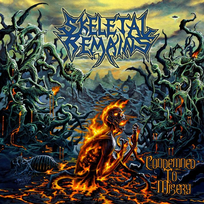 Cover and tracklist from SKELETAL REMAINS