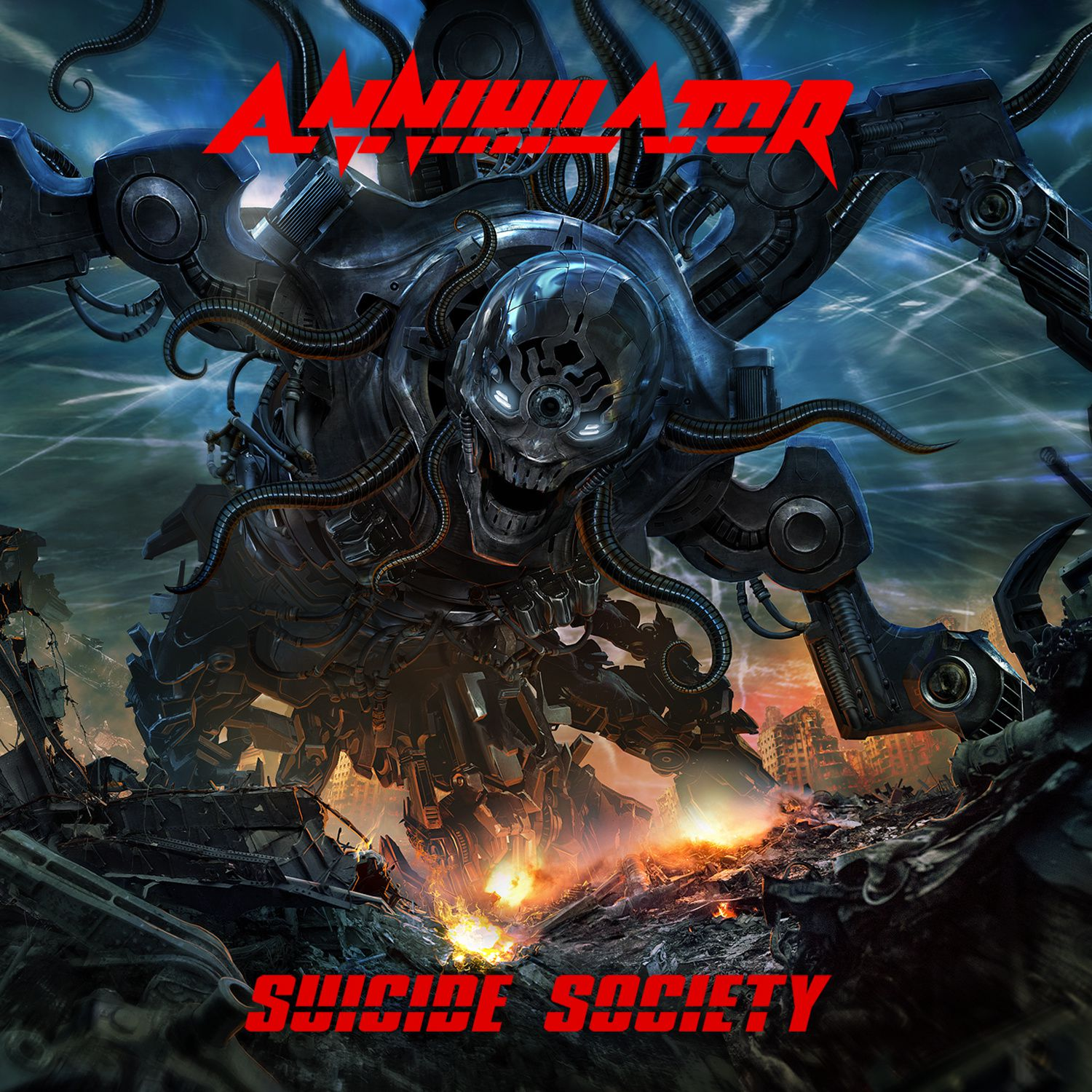 """CD review ANNIHILATOR """"Suicide society"""""""