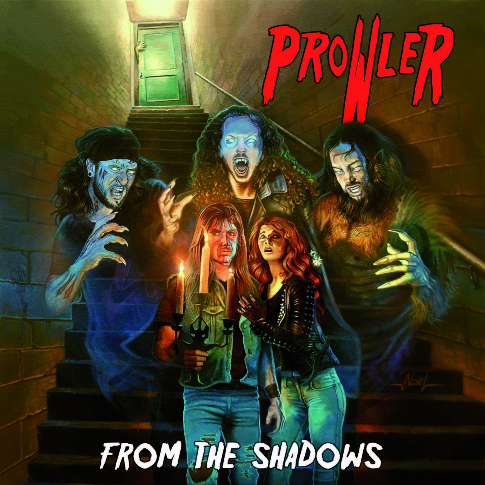 """CD review PROWLER """"From the shadows"""""""