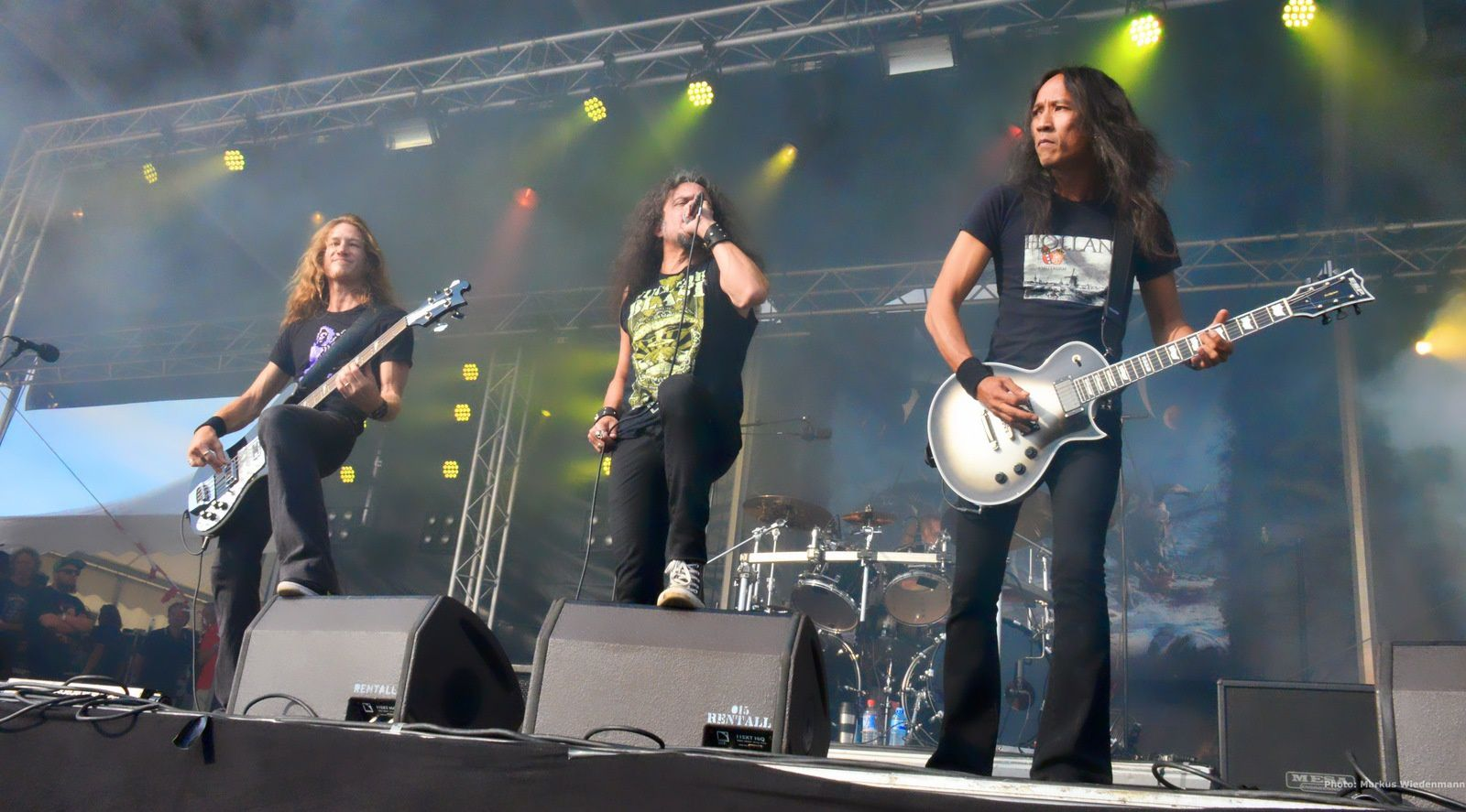 Live review DEATH ANGEL, Schollenpop Festival, The Hague, 01.08.2015