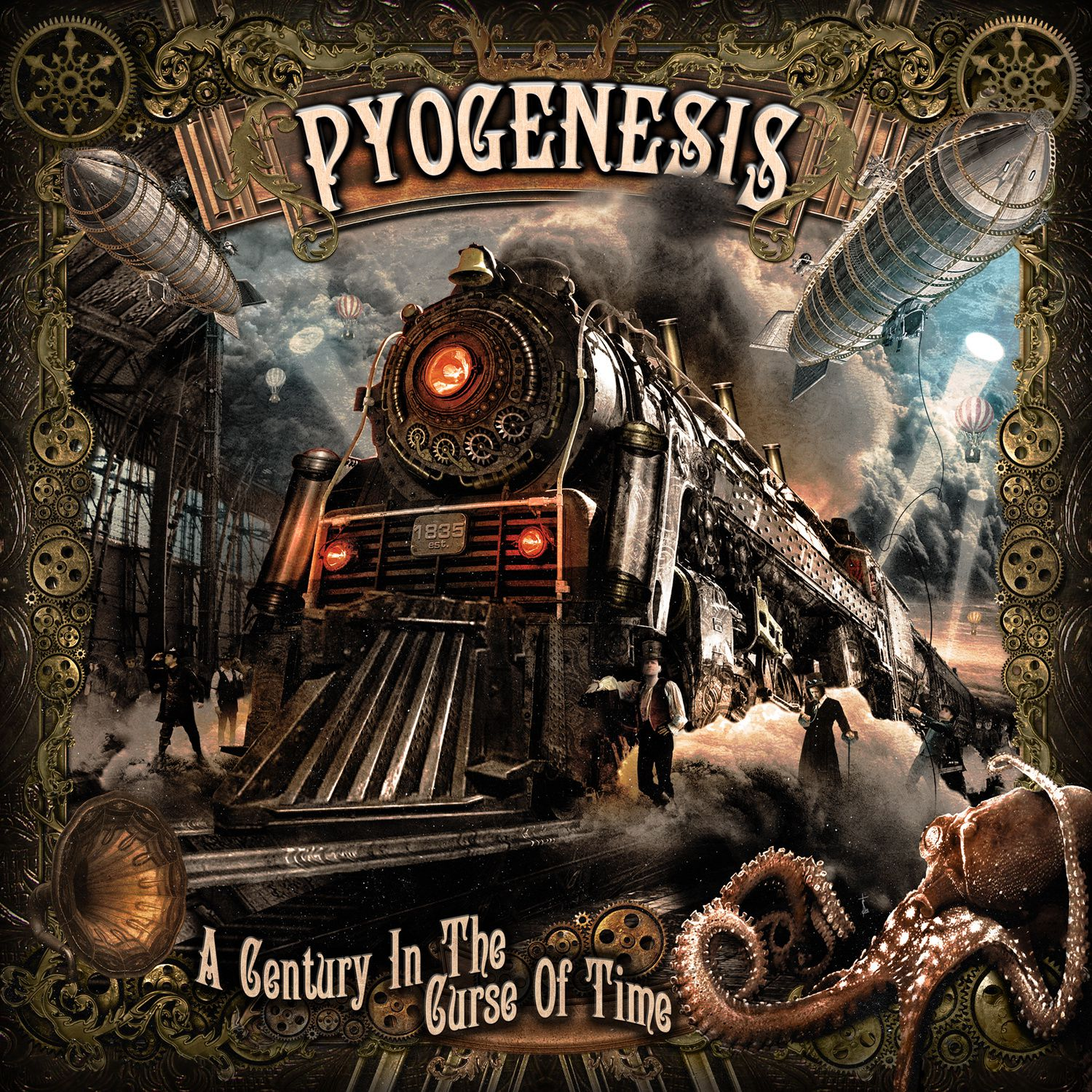 """CD review PYOGENESIS """"A century in the curse of time"""""""