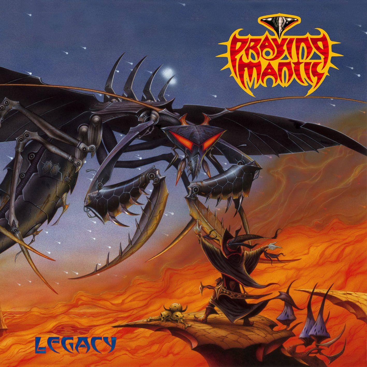 """CD review PRAYING MANTIS """"Legacy"""""""