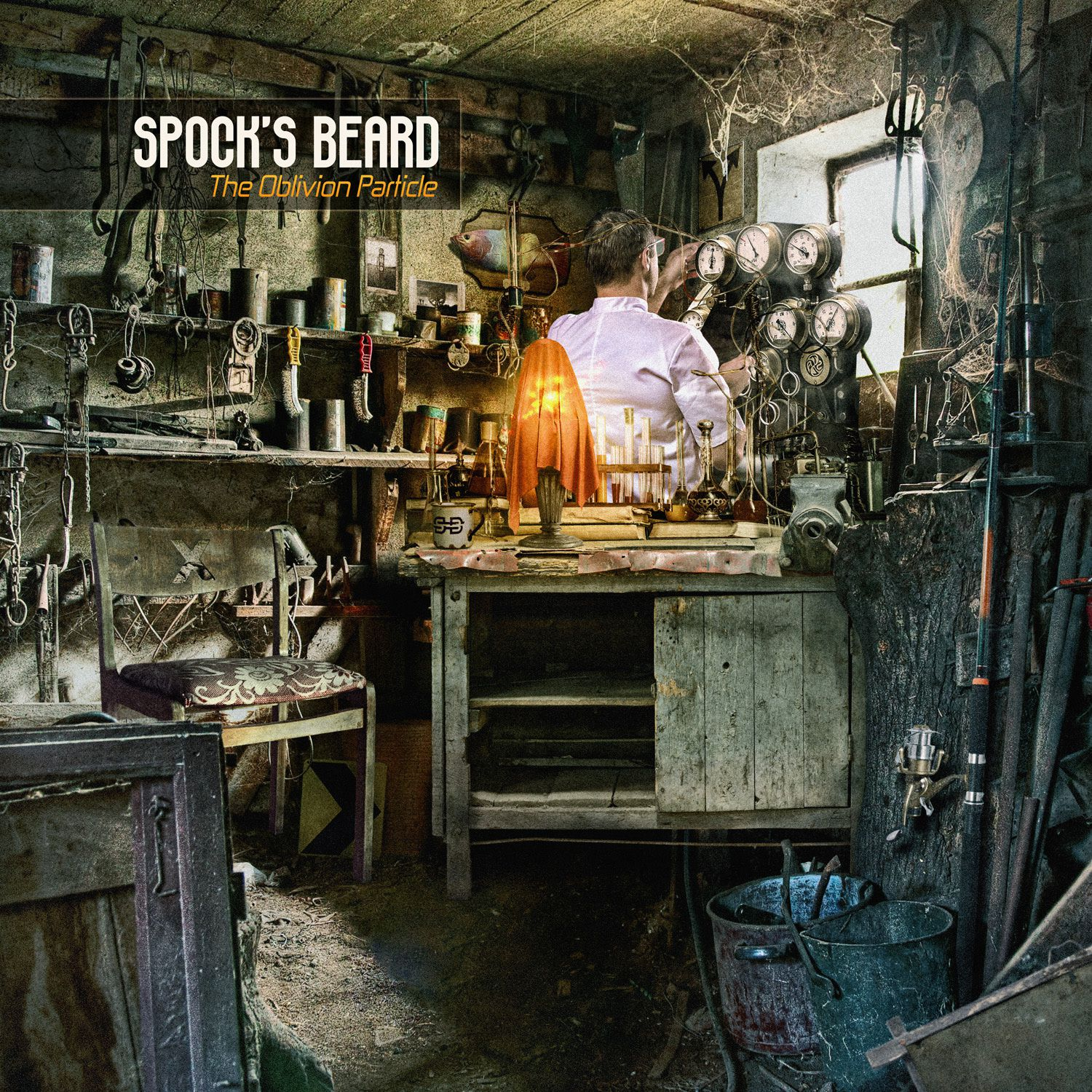 "CD review SPOCK'S BEARD ""The oblivion particle"""