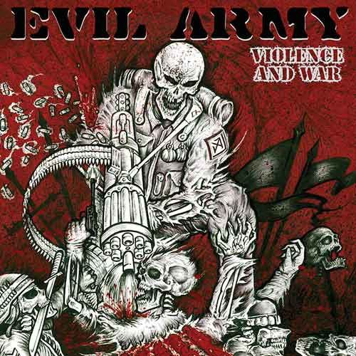 """CD review EVIL ARMY """"Violence and war"""" EP"""