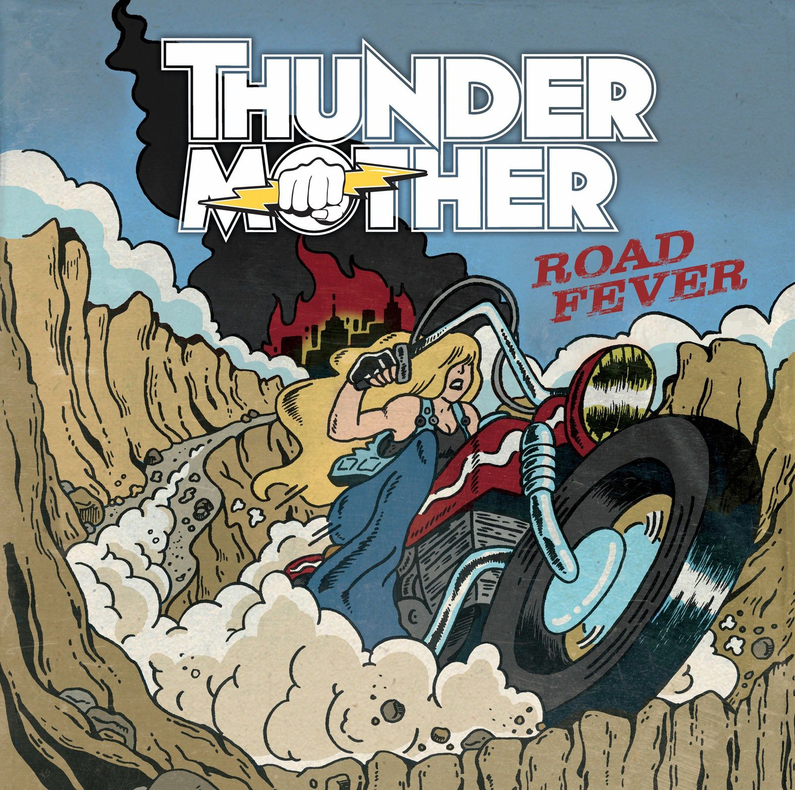 "CD review THUNDERMOTHER ""Road Fever"""