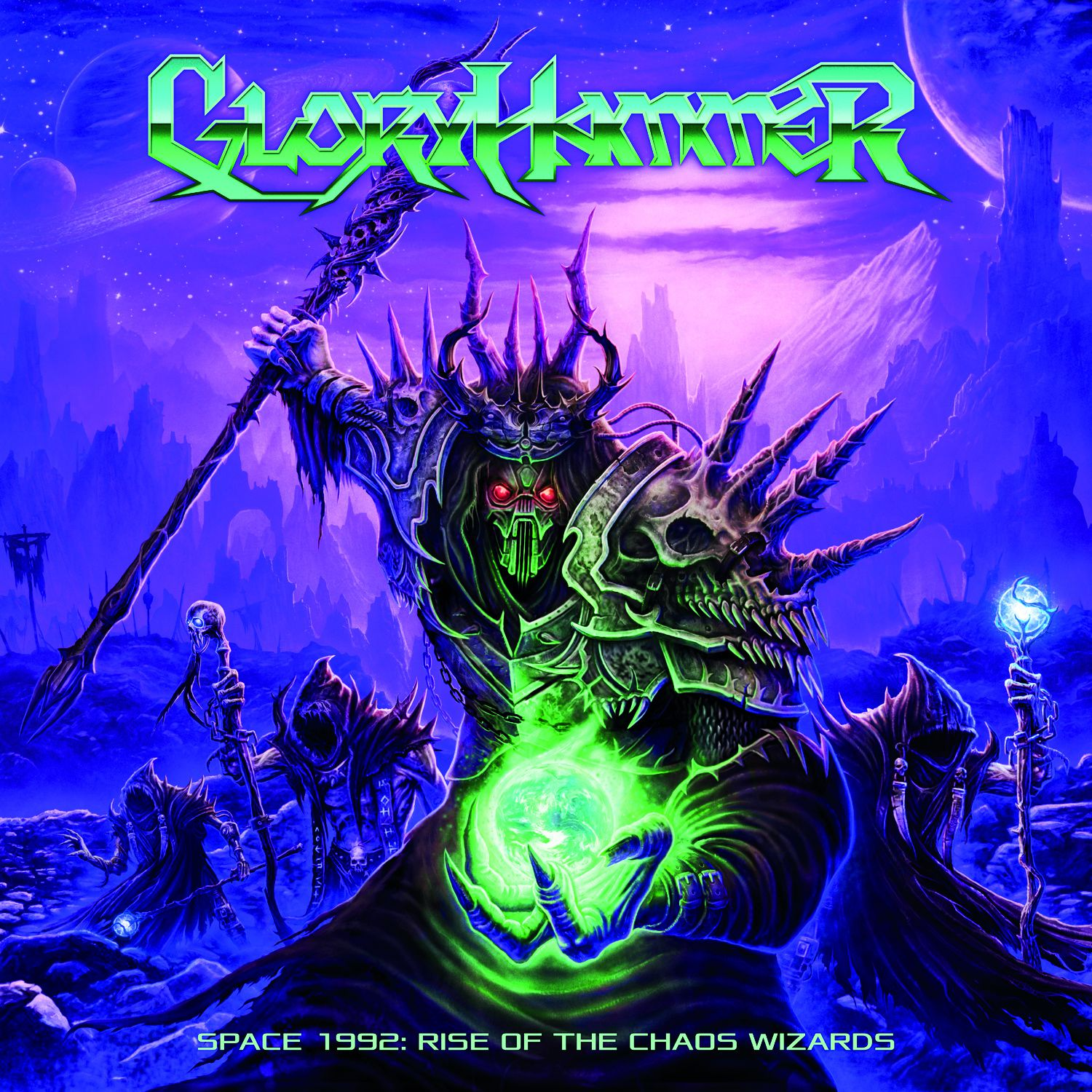 """CD review GLORYHAMMER """"Space 1992 - Rise of the Chaos Wizard"""""""