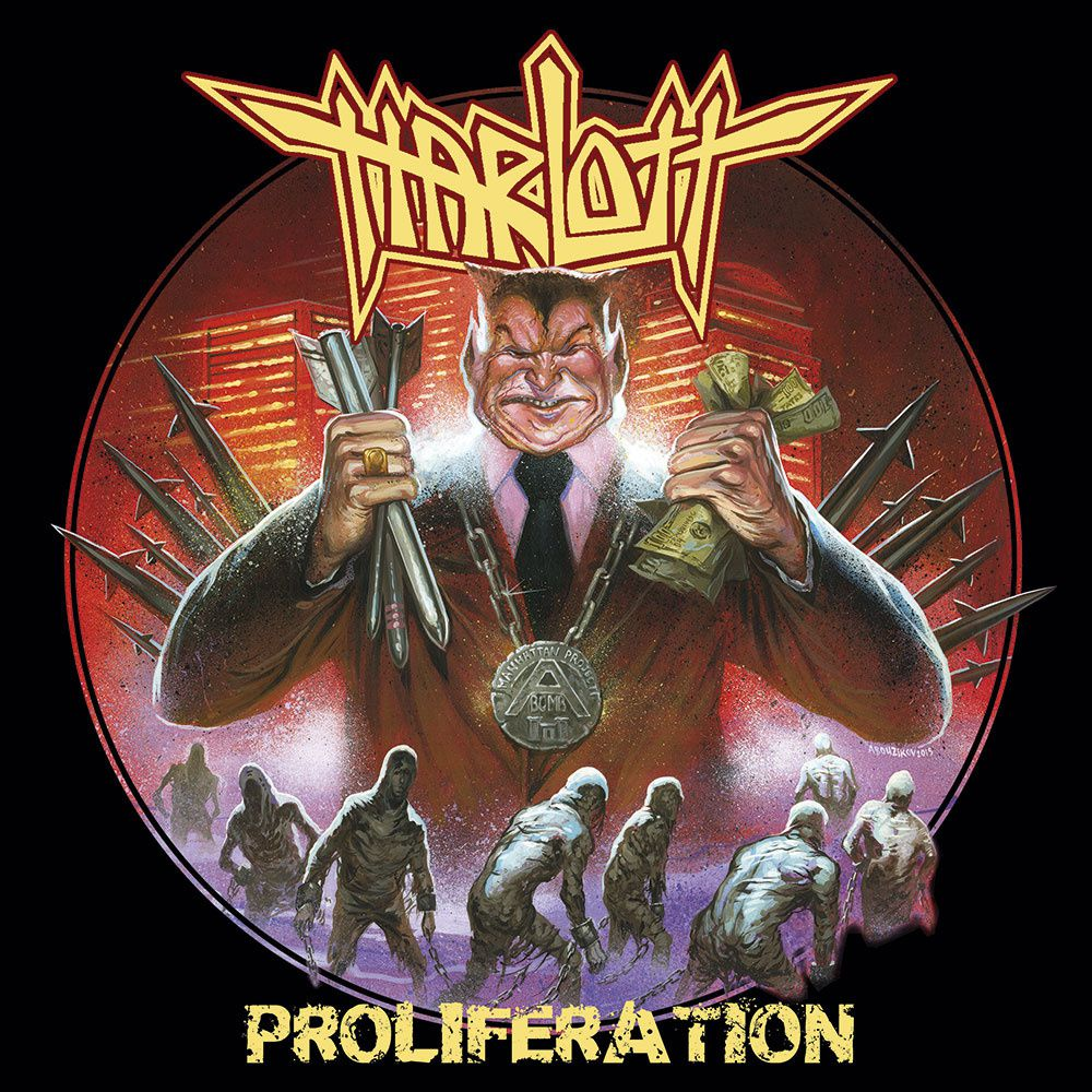 "CD review HARLOTT ""Proliferation"""
