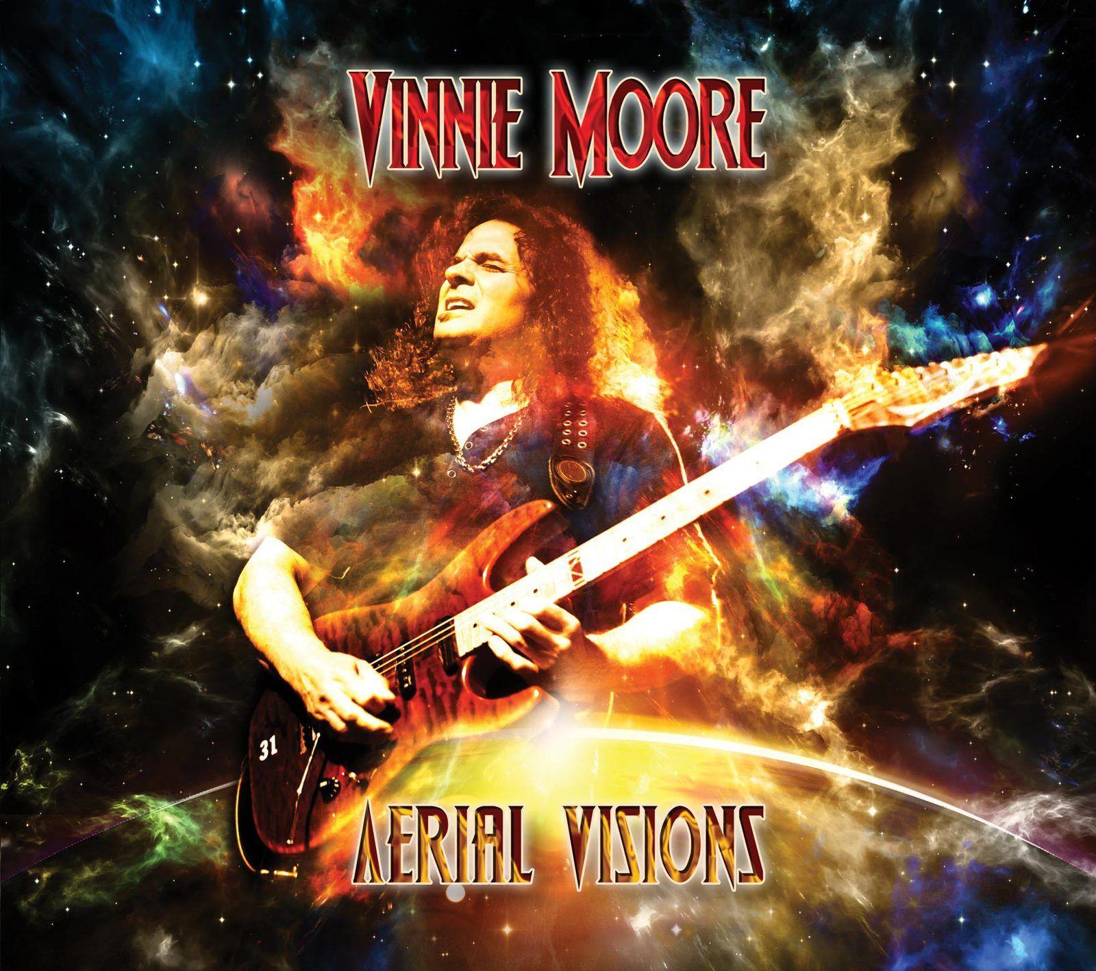 "CD review VINNIE MOORE ""Aerial Visions"""